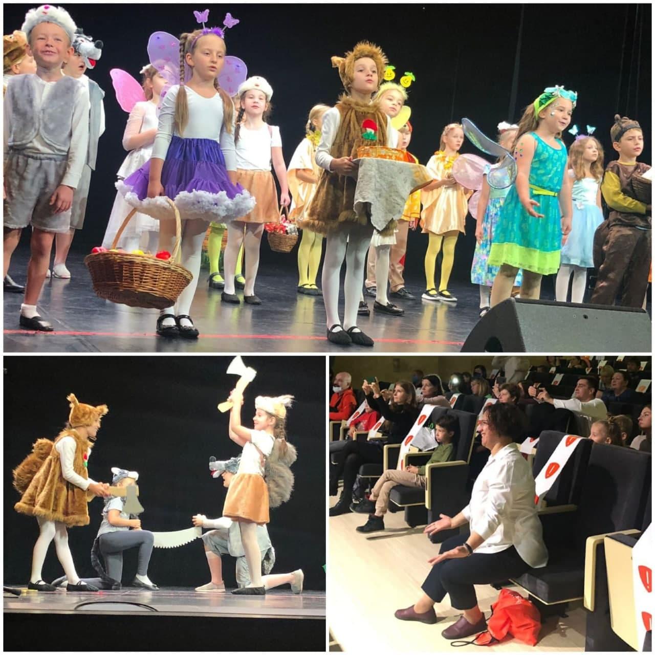 Учащиеся школы искусств из Кузьминок приняли участие в открытом творческом фестивале
